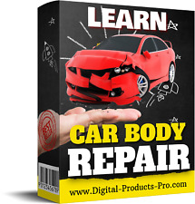 🔥 Learn Car Body Work & Repair –Full Video Course Step By Step BONUSES Download