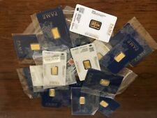 2.5 gram Gold Bar - PAMP Suisse Fortuna - 999.9 Fine in Sealed Assay