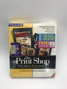 Broderbund The PrintShop Premier Edition 5.0 ~ BRAND NEW & SEALED
