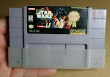 Snes Super Star Wars (Super Nintendo-1992) Game Cartridge-100% Authentic-Tested