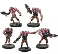 Mantic DeadZone Plague 3rd Gen Troopers x5 Fast & Free P&P