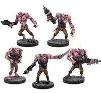 Mantic DeadZone Plague 3rd Gen Troopers x5 Fast & Free P&P