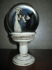 Proposal Engagement Skeleton Bride/Groom Snow/Water Globe, Wedding Halloween!