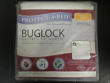 PROTECT-A-BED BUGLOCK MATTRESS ENCASEMENT - FULL / DOUBLE - NEW - RC 884