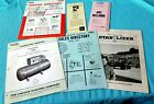 Vintage 1960s LINCOLN ELECTRIC OPERATING MANUAL SALES & SERVICE DIRECTORIES ++