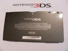 Nintendo 3DS  Housing Bottom outside Black Shell Repair Part Battery Cover