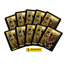 More details for panini - fortnite black frame series sticker collection sealed packs - 1,2,5,10