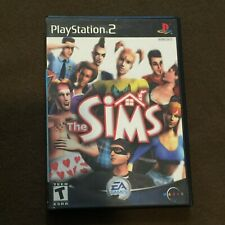 Sony PlayStation PS2 Video Game The Sims Rated T