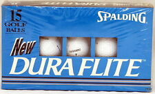 Dura Flite Spalding 15 Golf Balls New in Box Fifteen Duraflite Golfballs