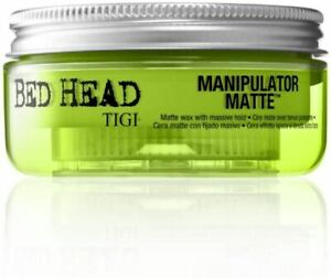 TIGI Bed Head Manipulator Matte Hair Wax For Strong Hold - 56.7 g