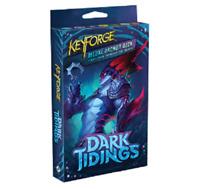 1x Deluxe Deck Dark Tidings KeyForge Asmodee FFG NIB SEALED SHIPS 5/14