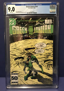 CGC Graded 9.0 Mint DC Comics Green Lantern #193 DEAD RINGER  10/1/1985