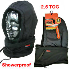 HEAT MACHINE Thermal Balaclava Showerproof Fleece Snood 2.5 Tog Neck Warmer Hat