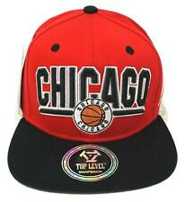 CHICAGO City Snapback Cap Hat Chi Town Basketball USA Flag Caps Hats NWT