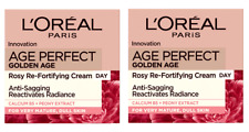 2 X L'oreal Age Perfect Golden Age Rosy Re-Fortifying Day Cream  - (2 x 50ml)