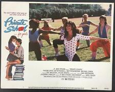 beautiful Phoebe Cates at P.E. class Private School 1983 # 1 lobby card 1081