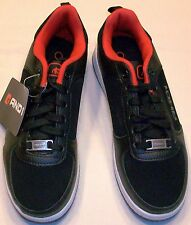 AND1 SELECT BLACK WITH RED LACE-UP ATHLETIC BOY SHOE SIZE 6 NEW