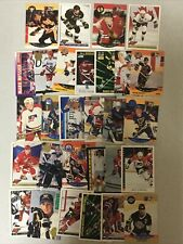 New listing NHL hockey card lot. Wayne Gretzky, Mario Lemieux, Brett Hull & More