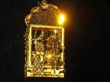 1998 Dandury Mint gold Christmas ornament gold plate Toy Shop