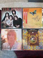 70's ROCK vinyl LP lot - The Babys - Heart - Rod Stewart - Thin Lizzy JOHNNY FOX