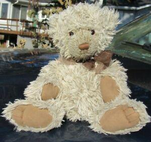 """VINTAGE TEDDY BEAR CUDDLE SOFT KENNETH PLUSH 320566 GUND TUSH TAG 15"""" FLOPPY"""
