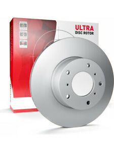 2 x Protex Ultra Brake Rotor FOR FORD FIESTA WZ (DR1056)