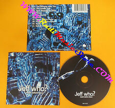 CD JEFF WHO? Death Before Disco 2005 Iceland SMEKKLEYSA no lp mc dvd (CS11)