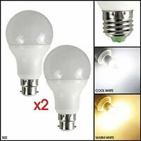 9W LED Light Bulbs B22 E27 - Automatic Dusk To Dawn Sensor MSC Security Lamp