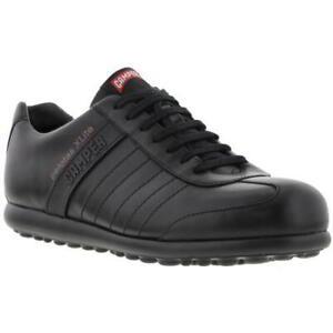 Camper Pelotas XLite Mens Black Leather Lightweight Lace Up Shoes Size UK 7-12