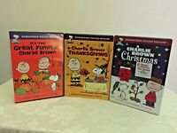 Charlie Brown Thanksgiving, A Charlie Brown Christmas, Great Pumpkin Remastered