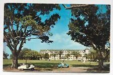 FL Postcard Belleair Clearwater Florida Belleview Biltmore golf course carts