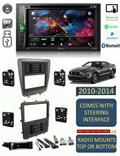 2010-2014 FORD MUSTANG PIONEER AM/FM CD/DVD USB/BLUETOOTH CAR RADIO STEREO