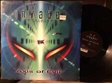 "Axis Of Evil ‎– Drive / Blind Alley VG+ Invader VINYL 12"" D&B"