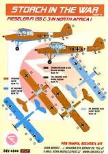 KORA Decals 1/48 FIESELER Fi-156C-3 STORCH Luftwaffe in North Africa Part 1