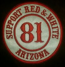 Hells Angels CaveCreek Support81Arizona Patch (round)