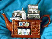 Paul Cardew Large Tea Shop Counter Limited Edition Teapot
