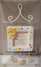 CHARMED SENTIMENTS HAPPY BIRTHDAY HANGING WALL PLAQUE BRAND NEW