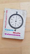 ORIGINALI PORSCHE 356 BJ 1950-1960 tipi di tolleranze misura w391