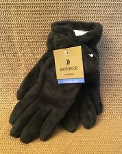 ISOTONER Thinsulate Microfiber Women's OnyxBrown Winter Gloves, One Size, New