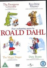 Roald Dahl Four Enchanting Stories Crocodile, Rhymes, Finger, Beasts New DVD