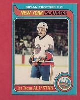 1979-80 OPC # 100 ISLANDERS BRYAN TROTTIER ALL STAR  CARD