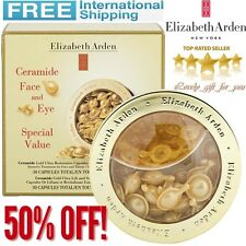 Elizabeth Arden Ceramide Gold Ultra Restorative Capsules Set Face 30 & Eye 30