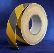 Antirutschband Sicherheitsband Streifen Rutschschutz schwarz/gelb 25m x 50mm