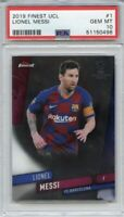 2019 Finest UCL Lionel Messi PSA 10 Gem Mint!🔥📈