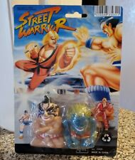 Vintage KO Street Fighter MoC Warrior Blanka Honda Superdeformed Mini Figs