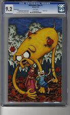 Adventure Time # 1 Virgin Cover D - CGC 9.2 WHITE  Pages - First app Finn & Jake