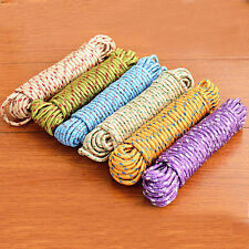 10 m Line Rope Clothesline Multifunction Nylon Washing Clothes String TO