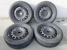 AUDI VW 16 Pollici Acciaio Cerchioni Pneumatici Invernali 6x16 205 55 MICHELIN a4 a6 8d0601027a