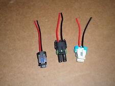 T56 Connector Set Backup Reverse Lockout VSS Wiring Pigtail GM LT1 LS1 Camaro