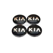 OEM Wheel Center Hub Cap Black 4P 1Set For 13 14 Kia Forte : K3